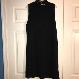 GAP sleeveless ribbed turtle neck sweater dress XL